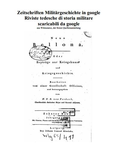 Zeitschriften milit rgeschichte in google riviste tedesche for Riviste di architettura italiane