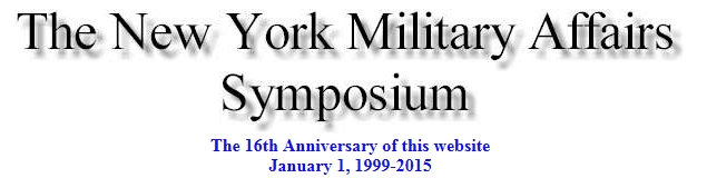The New York  Military affairs Symposium