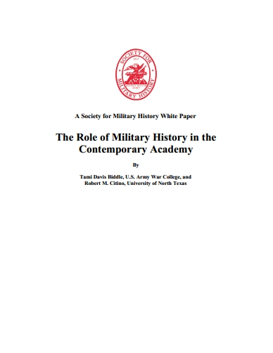 The Role Of The Military History